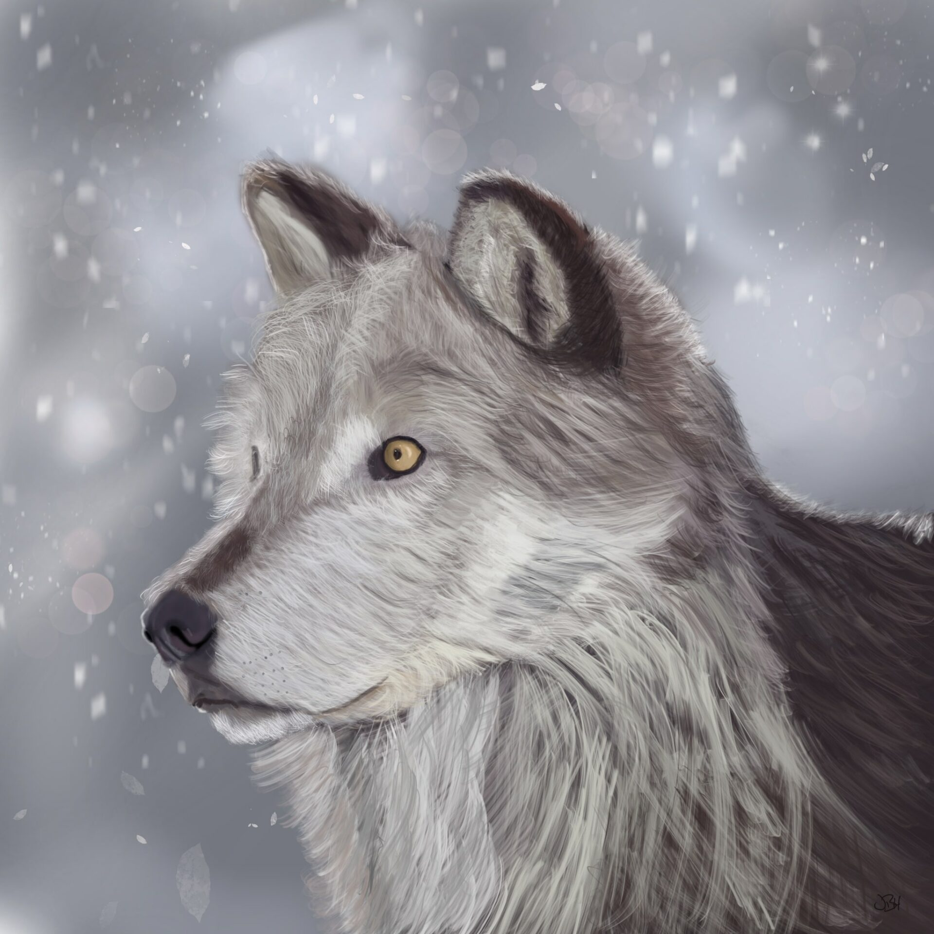 The Watchful Wolf