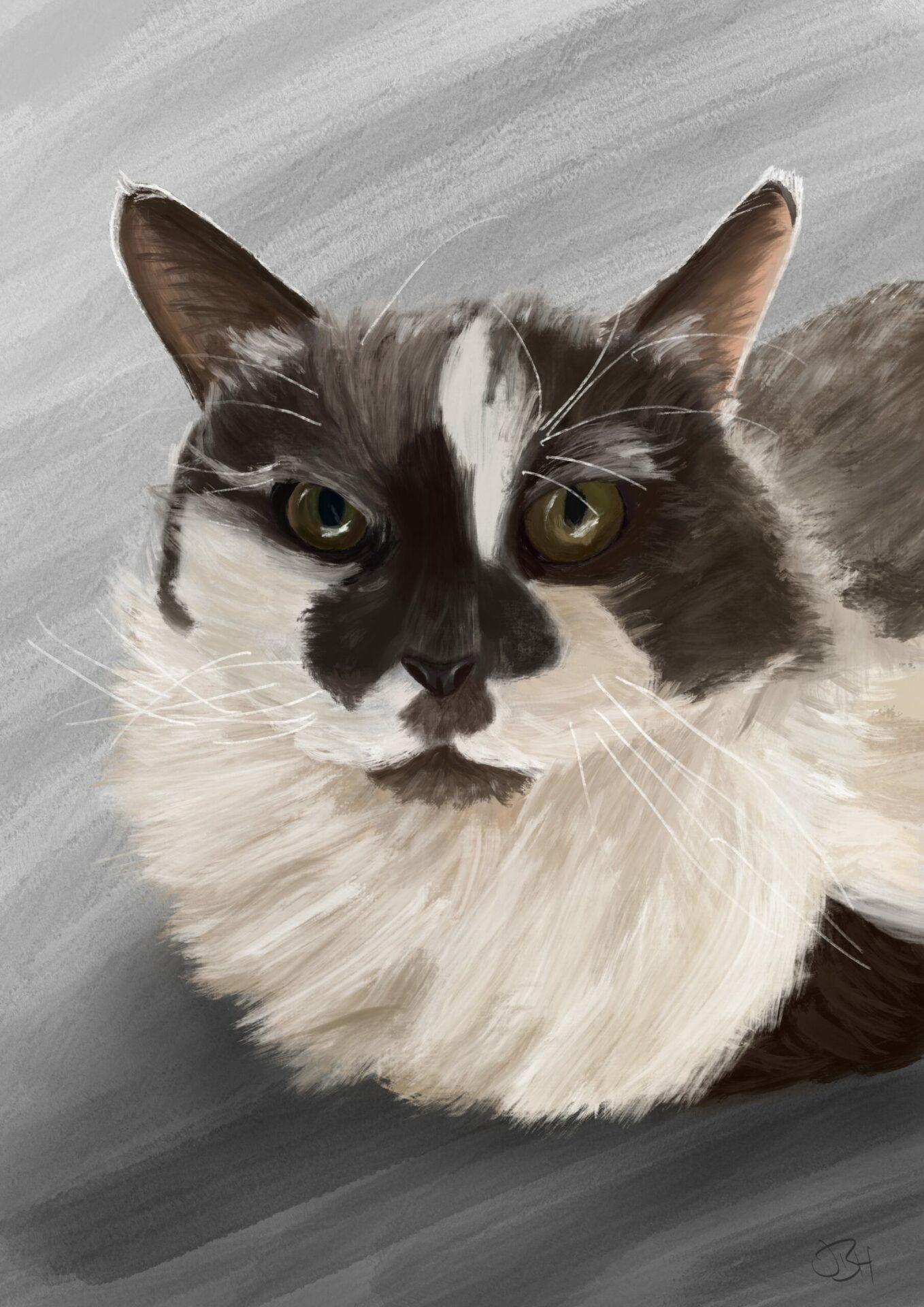 ethal pet portrait