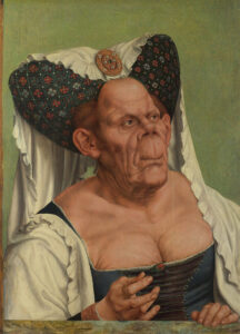 The Ugly Dutchess by Quentin Matsys, c. 1513