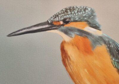 Canvas print example closeup